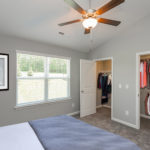 Great double closets provides great storage for your wardrobes. (Photo of Unit 108)