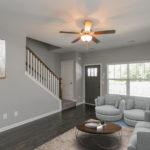 All units have plenty of natural light and gleaming hardwoods.(Photo of Unit 108)