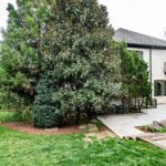 This side of the house faces your managable yard with perfect landscaping for privacy.