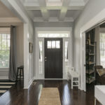 Greet your guests from this elegant foyer.