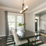 The formal dining room is large enough for all your family gatherings.