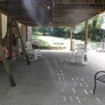 Under the deck is more storage area for you or make it another outdoor living space.