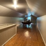 The bonus --- the finished attic space would be a great playroom. The floors will need some attention.