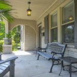 Lots of porch sitting going on during these new times -- wave to the neighbors while you sip your sweet tea!