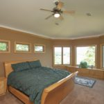 The master bedroom is 21x15 and is located on top floor.