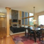 The dining area has more cabinets & granite to serve as a buffet for your family gatherings.
