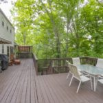 More deck! Notice there are multi-levels to the deck like a Swiss Family Robinson tree house!