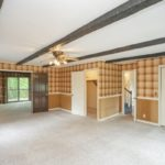 This spacious room is one of 4 family gathering spaces on the main level.