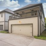 Your 2 car garage is tucked in the back of the house and includes plenty of room for your cars & storage.