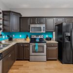 Granite countertops and plenty of cabinet space will make your family's chef happy!