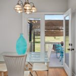Plenty of space for a breakfast table or have your meals al fresco on the deck.