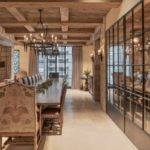 The wine tasting room and cellar.