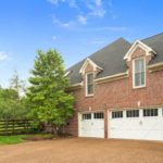 Three car garage gives you plenty of room for your cars or to use as storage if needed.