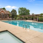 The Lansdowne community includes a gorgeous pool and clubhouse for homeowner's use.