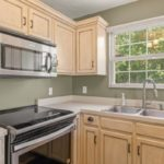 So much countertop space and cabinetry for the cook in your family to enjoy!