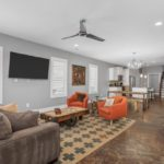 This great room is the heart of the home and would be a fabulous place for parties & family gatherings.