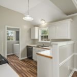 This kitchen will delight the chef in your family with plenty of countertop and cabinet space.